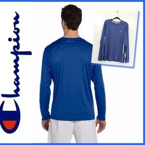 CHAMPION double dry long sleeve athletic